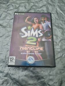 The Sims 2 Nightlife PC Game Expansion Pack Boxed + Manual