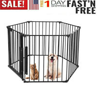 Heavy Duty Metal Cage Crate Pet Dog Playpen Exercise Pen Fence Kennel