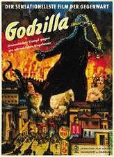 Godzilla King of the Monsters 1956 horror movie poster print 3