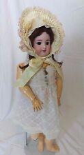 "Simon & Halbig 550 Antique Procelain Doll 22"" Tall"