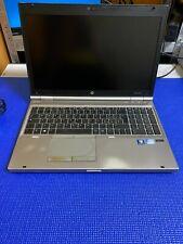 """Portatil HP EliteBook 8570p i5-3360M 2.8GHz 8GB 500GB Webcam DVD 15.6"""" E8880"""