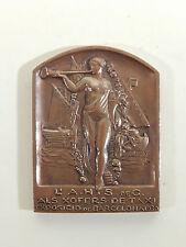 Medalla españa ° l 'A.H.S. de c como xofers de taxi exposicio de barcelona 1930