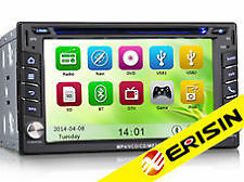 "AUTORADIO GPS 2 DIN ERISIN ES7610M 6.2"" FULL HD WI-FI 3G TV DIGITALE NO DOGANA"