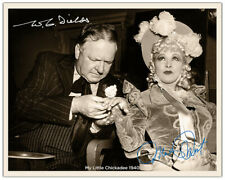 MAE WEST WC FIELDS My Little Chickadee 1940 Photograph Autographs 8x10