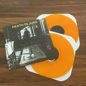 "Death in June ""NADA Plus"" Double Gold Colored Vinyl LP 30th Anniversary REISSUE"