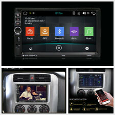 """7"""" HD 1080P Touch Screen Android 7.1 Quad Core Car Bluetooth Stereo GPS Nav 16GB"""