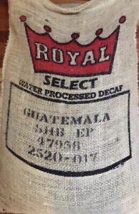 5 lbs DECAF Green Un-roasted Coffee Beans Guatemala Antigua SHB Water Process