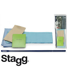 Stagg SCK-FL Cleaning Kit for Flutes with Swab, Cleaning Rod and Polishing Cloth