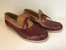Clean Pair of Rubber Moccasins - Women's Size 9