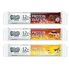 Novo Nutrition Protein Wafer bar - Variety Pack 4 bars of each flavor