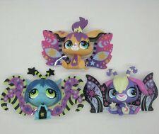 3PCS Littlest Pet Shop Figures Moonlite Fairies Star #2825 #2826 #2827 NA71B