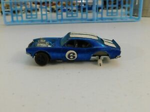 Hot Wheels Blue 1970 Heavy Chevy Beautiful Car with damaged Rear Axles