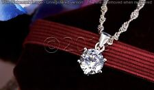 Beautiful 1.56 ct Off White Yellow Moissanite .925 Sterling Silver Pendant D09