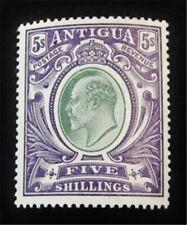 nystamps British Antigua Stamp # 30 Mint Og H $115 J15y1898