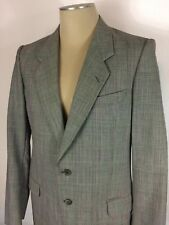 Men's Conte Di Roma 100% Wool Sports Coat Blazer Jacket Made In Italy size 39