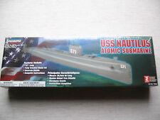 Lindberg 70884 USS Nautilus 1:300 nuevo y soldada envío combinado posible