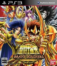 USED PS3 Knights of the Zodiac Saint Seiya - Brave Soldiers