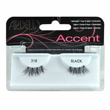 Ardell Accent Style Eye Lashes Number 318 Black Set of 4