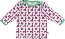 NEW! LOUD + PROUD t-shirt - White with Fuchsia Giraffes size 86/92