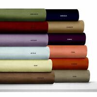 """Luxury Bed Sheet Set 4 PCs All Size & Multi Colors 100% Cotton 400-TC 15"""" Drop"""