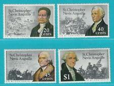 St. Kittis Nevis aus 1976 ** postfrisch MiNr. 317-320 USA