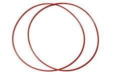 2 CINGHIE SILICONE BEST WOW & FLUTTER REGA PLANAR P1 P2 P3 P5 GIRADISCHI