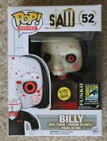 Funko SDCC 2014 Exclusive Saw - Glow in the Dark Billy Pop #52 LE 2500