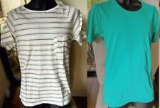 Cotton Basic Tees Striped T-Shirts for Men