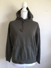 New! Brandy Melville olive green kangaroo pocket Christy hoodie sweatshirt NWT