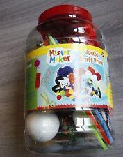 Mister Maker Jumbo Craft Tambor edad 3+ Totalmente Nuevo Arte Brillante para niños creativos!