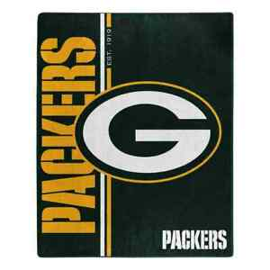 """Northwest NFL 50""""x 60"""" Restructure Throw Blanket Football - Green Bay Packers"""