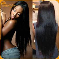 20+22+24inch straight Malaysian 3 Bundles 300g Human Hair weave Virgin Extension