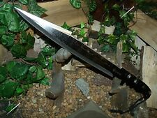 Machete/Knife/Sword/Bowie /Full tang/Hunting/Camping/Comb at/Ultra Heavy duty