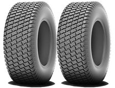 2) 16x6.50-8 R/M 4 Ply Turf Tires John Deere Lawn Mower Garden Tractor FREE Ship