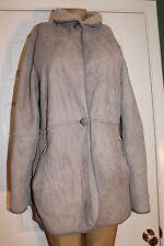 RARE Vintage MARGUERITE NEW ZEALAND Hide Shop SHEEPSKIN & SHEARLING WOOL COAT 36