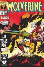 VERY RARE Marvel Comics Wolverine #36 Comic Book February 1991