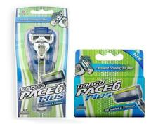 Dorco Pace 6 Plus - Six Blade Razor -   1 Handle + 6 refill Cartridges