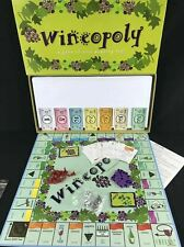 Wineopoly Monopoly 100% Complete Board Game Wine Lovers Contents Sealed