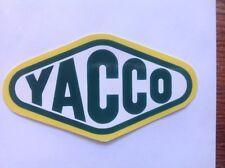 sticker autocollant YACCO