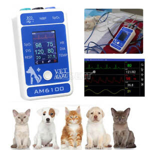 Veterinary Pet Animal Patient Monitor Portable Multi-Parameter Body Healthy Test