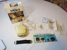 Pollenex Sveda II 2 fingertip direct massage vibrator massager vintage RARE box