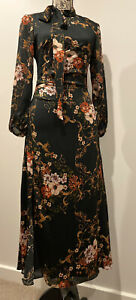 Beautiful Cue Floral Midi Dress Size 8