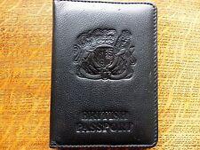 Passeport britannique old style portefeuille, par VAILLANT Design, PARFAIT