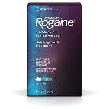 Women's Rogaine 5% Minoxidil Hair Regrowth Treatment 4 Months Supply 2.11 oz X 2