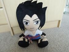 "Naruto Sasuke Plush Figure Anime - 12"" high. 2009"