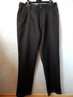 ✔ADIDAS  Womens PANTS Black Casual Stretch 32W X 32L Athletic Golf Active