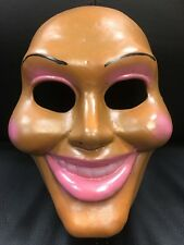 The Purge Fibreglass New Movie Fancy Dress Up Child Adult Mask Cosplay Anarchy 1