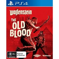 Wolfenstein The Old Blood PS4 Game - Brand New & Sealed Australian Retail Ver