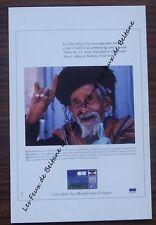 Carte format CPSM, publicité carte bleue Visa,Shehara,Yemen , 1988