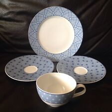 Hutschenreuther Germany Laura Ashley SALLY 4 Pcs,1 Salad plate,2 saucers&1 cup